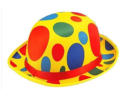 Clown Kostüm Pro - Inception pro infinite Modell 1 - Hut Clown Saltinbanco Kostüm Verkleidung Karneval Halloween Cosplay Zubehör Mann Frau Kinder