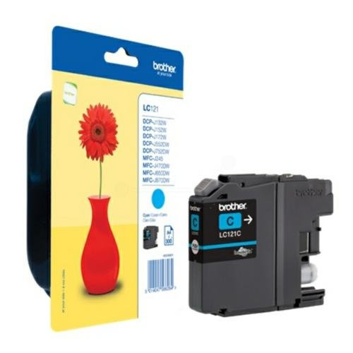 Brother LC121C Cartouche Jet d'encre Cyan