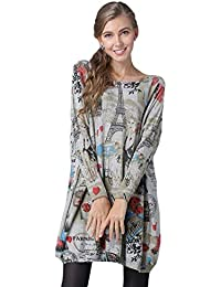 BOLAWOO Jersey Largo Mujer Otoño Invierno Sweater Elegante Vintage Casual Mode De Marca Pullover Punto Cuello