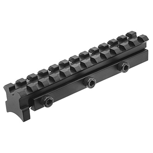 UTG Scope Mount Base, Fits RWS Diana 48, 52, 54 & 460 Magnum, Compensates for Droop & Stops Scope Shift by UTG