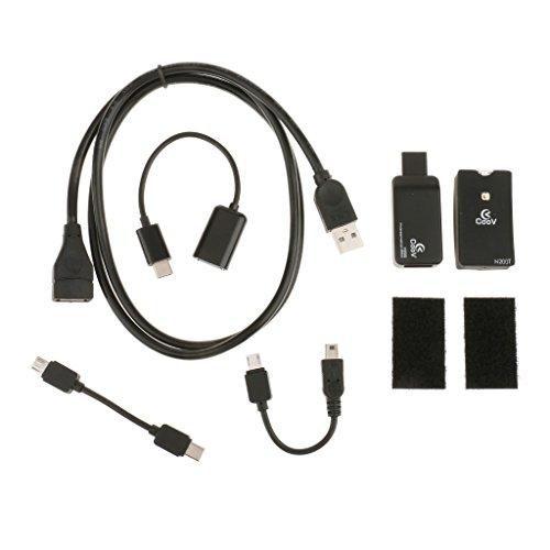 D DOLITY Controller Adapter Konverter mit Verlängerungskabel für Xbox One zu Switch NS, Wechseln Unterstützung Passt zu Standard-USB-Controller (Platz Wechseln)