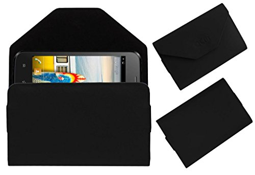 Acm Premium Pouch Case For Micromax Bolt A66 Flip Flap Cover Holder Black  available at amazon for Rs.329