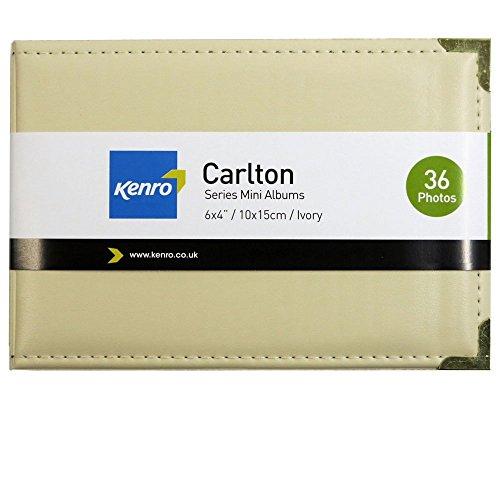 kenro-carlton-mini-album-36-6x4-ivory
