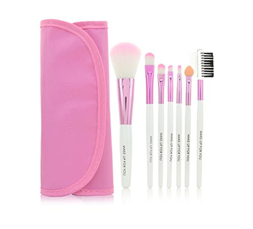 hosaire-7pcs-makeup-brushes-make-up-brushes-professional-make-up-makeup-brush-set-with-leather-case-