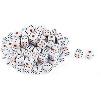 DealMux plástico Canto arredondado Gambling KTV sorte Game Props Corta 100 Pcs