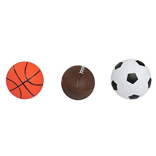 Hamleys Mng Set of 3 Balls, Multi Color