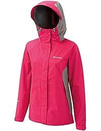 Sprayway Atlanta II Womens Walking Hiking Waterproof Coat Jacket - Pink/Grey **RRP £80.00**