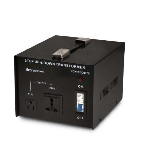 Bronson++ VT 2000-110 Volt Spannungswandler Transformator Step-up/-down Konverter - Bronson 2000 Watt 110V 2000W (110 Bis Konverter Stromversorgung: 220)