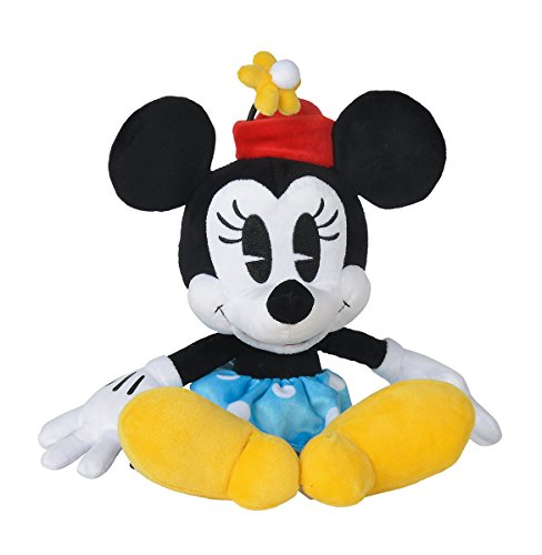 Simba 6315875978 Disney Minnie Retro, 25cm Plüschtier