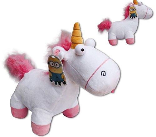 Muñeco de peluche blando, diseño de unicornio Agnes de la película 'Gru 2, mi villano favorito', aprox. 40 cm