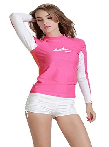 para-mujer-manga-larga-snorkel-surf-banador-camisa-proteccion-solar-buceo-trajes-rosa-b