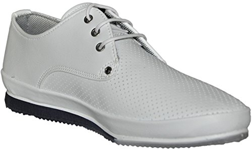 chaussures sneakers basses fashion 258_series Blanc