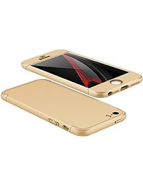 Funda iPhone SE / 5S / 5 Case ,Wouier® Luxury 3 in 1 Electroplating Protective Case Superior Coating PC Hard Skin...