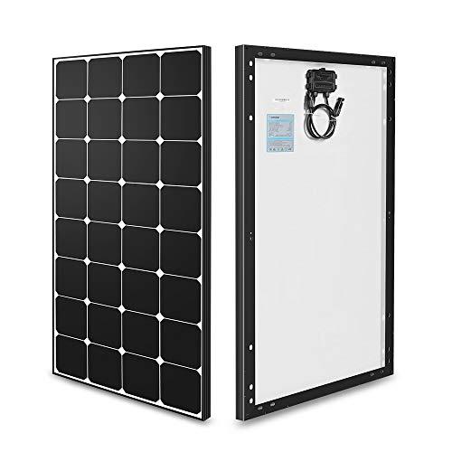 RENOGY 100W 12 Volt 18,35{8522e6b725e00b2a695f7123c53e07b94e2b73727cbf21f740a4a124e1390269} höhe Leistung Solarmodul Monokristallin Solarpanel Solarzelle zum Aufladen von 12V Batterien Wohnmobil Garten