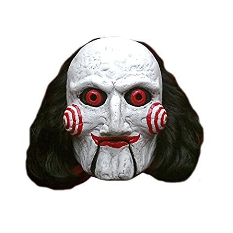 Saw Billy Costume - Masque Billy Puppet Saw