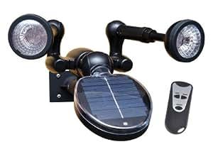 Sunforce produits 86318Lampe de sécurité solaire avec télécommande