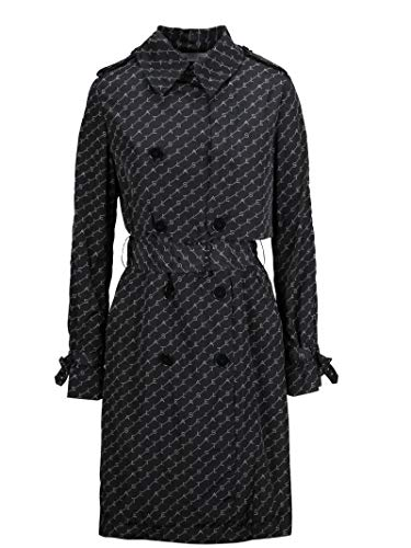 Stella McCartney Luxury Fashion Damen 581896SNA121000 Schwarz Trench Coat | Herbst Winter 19 13