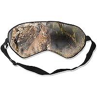 Schlafmaske/Schlafmaske, Motiv Lynx Katzen mit Bobcat-Aufdruck, sehr glatt, Seide preisvergleich bei billige-tabletten.eu