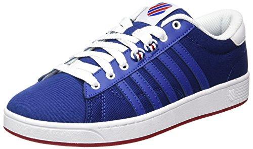 K-Swiss Herren Hoke T CMF Sneakers, Weiß(Limoges/Chili Pepper/White 497), 43 EU
