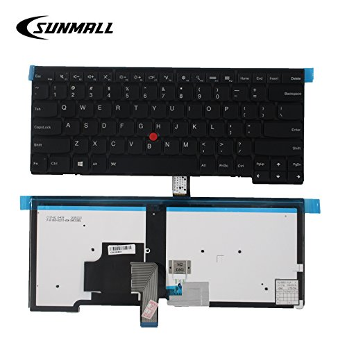 SUNMALL Backlit Keyboard replacement for Lenovo ThinkPad T431 T431S E431  T440 T4