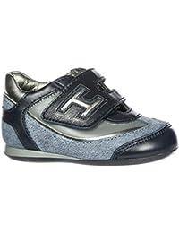Amazon.it  scarpe Hogan - Blu   Scarpe per bambini e ragazzi   Scarpe ... 98e3503f0a8