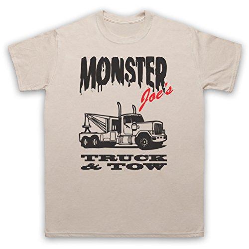Inspiriert durch Pulp Fiction Monster Joe's Truck N Tow Unofficial Herren T- Shirt Beige