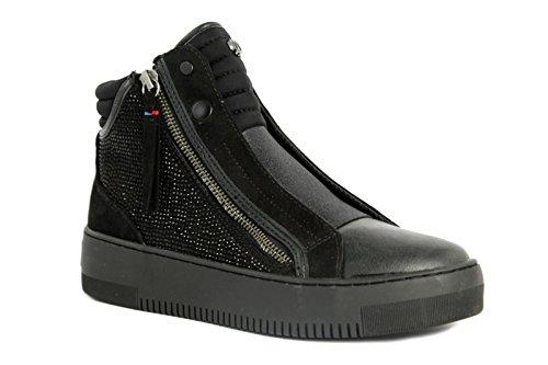 Wrangler Wl162645 Sneakers Donna Pelle Nero Nero 36