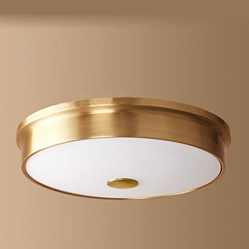Zeitgenössische Deckenleuchte Dekoration / Deckenleuchte Runde Design ø 41 Golden Glas / Schatten / Runde / LED / 1x15W / 1 Weg [Energy-Klasse A ++] -