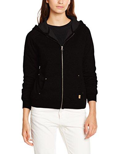Desires Damen Aby-A Zip Hood Sweatshirt, Schwarz (9000 BLACK), 38 (Herstellergröße: M) - Schwarze Zip Sweatshirt