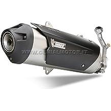 Yamaha XMAX 125201010Completo MIVV de escape Urban Acero Inoxidable Kata lysiert