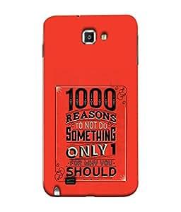 PrintVisa Designer Back Case Cover for Samsung Galaxy Note N7000 :: Samsung Galaxy Note I9220 :: Samsung Galaxy Note 1 :: Samsung Galaxy Note Gt-N7000 (Success quote :: Life quatation :: Good life quotes to live :: Beautiful quatation :: Simple quote design :: Nice quatation wallpaper :: Bold letter quote design )