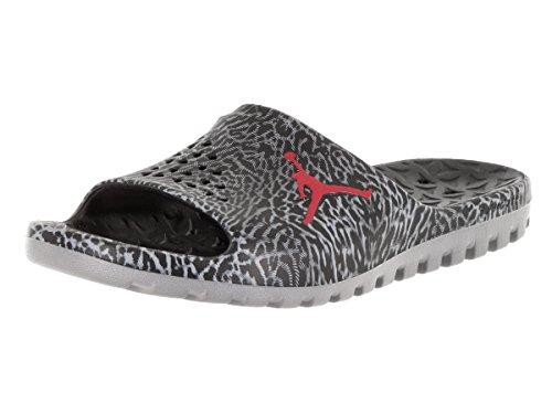 Nike Jordan Super.fly Team Slide Gr, espadrilles de basket-ball homme Noire (Black (noir / gymnase rouge gris-cool))