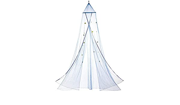 10016378 Home Locomotion Blue Starry Sky Bed Canopy Tom /& Co