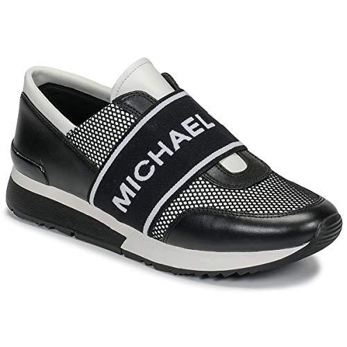 Michael MICHAEL KORS MK Trainer Sneaker Damen Schwarz/Weiss - 37 - Sneaker Low