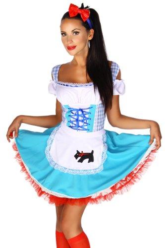 Heels-Perfect, Mules pour Femme bleu/blanc