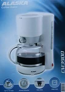 Alaska cm 3900Cafetière/Machine à café–pour 1,25L de café