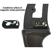 GAOYI Mostrador de Tiro con Arco magnético Arco Curvado Americano Arco de Tiro al Arco de Metal Accesorios Accesorios de Competencia de Entrenamiento Simple Tiro magnético