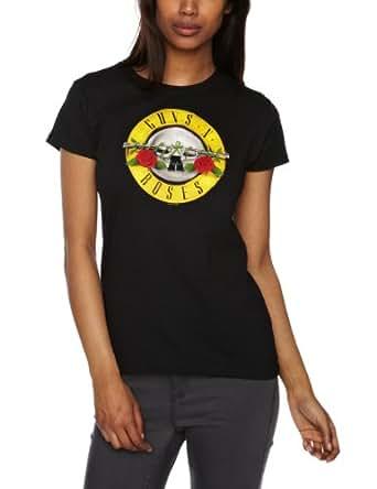 Bravado Damen T-shirt   - Schwarz - Black - Small (Herstellergröße: Small)