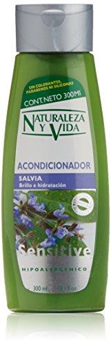 Naturaleza y Vida Sensitive Maschera capelli Salvia - 300 ml