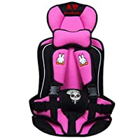 Portable Child Car Seat Car Baby Safty Cushion Pink 022