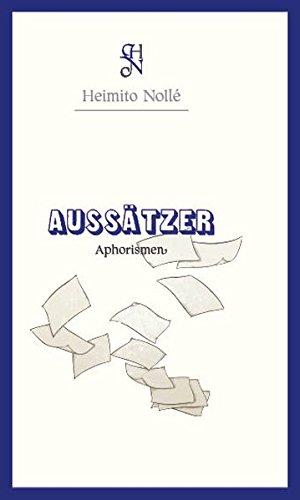 Aussätzer.: Aphorismen