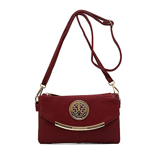 Craze London Borsa A Tracolla Donna Red