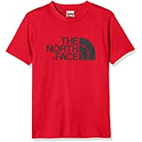 The North Face s/s Easy Tee Red/Black T-Shirt de coupe Unisexe Homme
