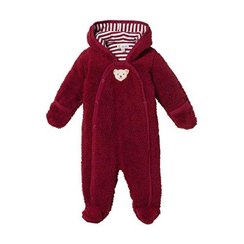 Steiff Baby - Mädchen Spieler , Rot (BEET RED 4010) , 62 (Herstellergröße:62)