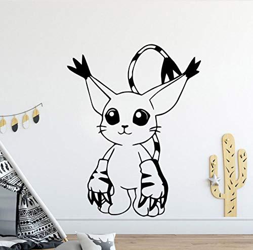 Qzheng Cartoon Wandaufkleber Moderne Innen Kunst Wanddekoration Baby Kinderzimmer Dekoration Hintergrund Wandkunst Applikation 58 * 74 Cm