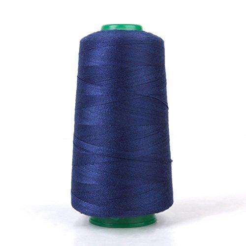 UEETEK 1 Stk 20er/2 Jeans Nähen Faden Spule für Nähmaschine (dunkelblau) (Thread Jean)