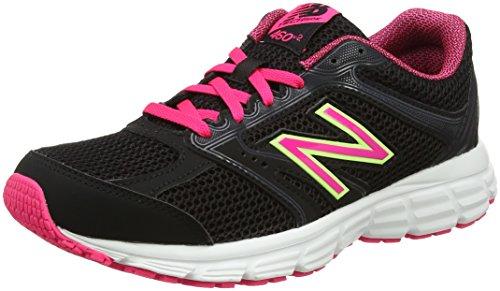 New Balance Damen W460v2 Laufschuhe, Schwarz (Black/Pink), 37.5 EU