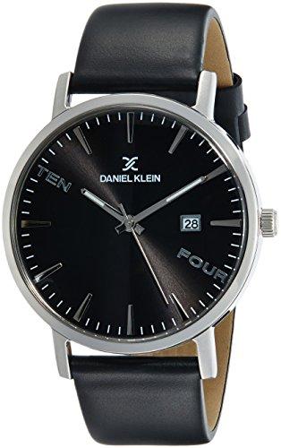 Daniel Klein Premium-Gents Analog Gunmetal Dial Men's Watch-DK11645-2