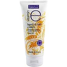 Beauty Formulas Hand and Nail Cream Vitamin E, 100ml