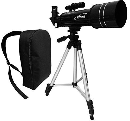 Orbinar 400/70 télescope voyage lunette terrestre incl. équipement complet + sac à dos